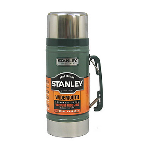 Stanley Vacuum Food Jar 24 oz., Hammertone Green