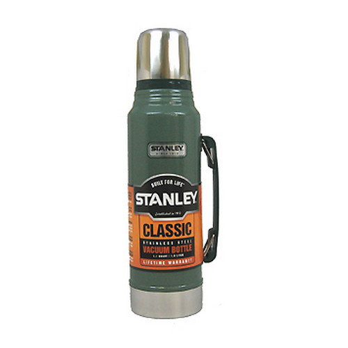 Stanley Vacuum Bottle 1.1 Quart, Hammertone Green