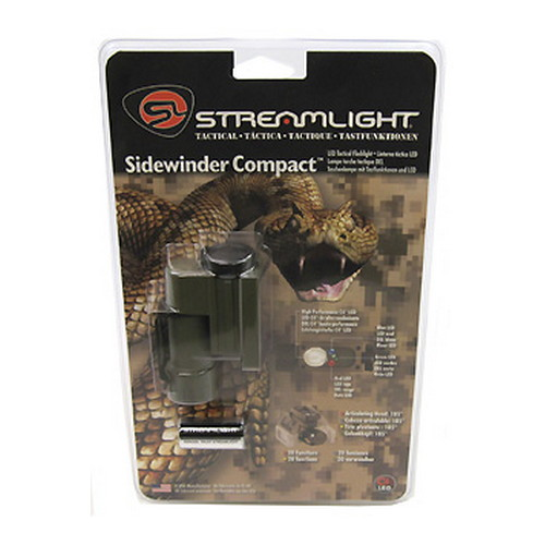 Streamlight Streamlight Sidewinder Compact Green, Green LED 14133
