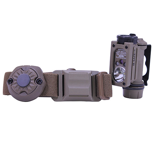 Streamlight Streamlight Sidewinder Compact II w/CR123A Battery Light and Head Strap, Clam Pack 14512