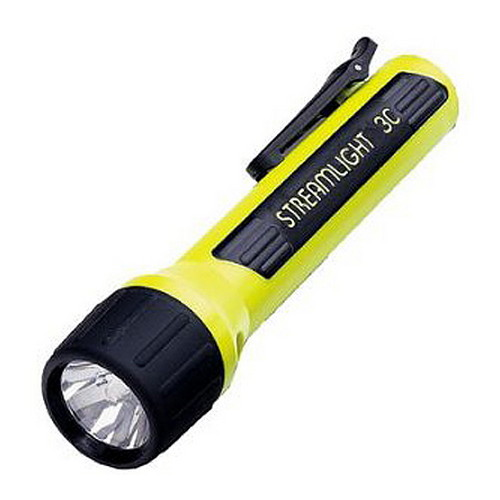 Streamlight Streamlight 3C Lux with White LED Clam Pack, Yellow 33244