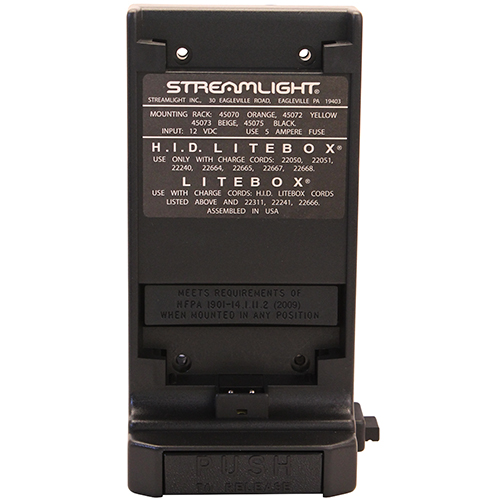 Streamlight Streamlight Standard System Mounting Rack Black 45075