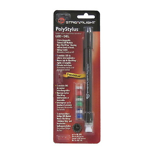 Streamlight Streamlight PolyStylus Black Combo LED Pack 66406
