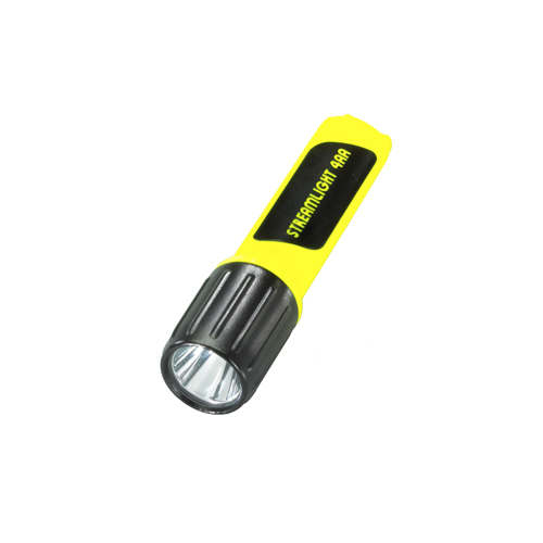 Streamlight Streamlight 4AA LED Lux Div 2 w/White LED, Yellow 68244