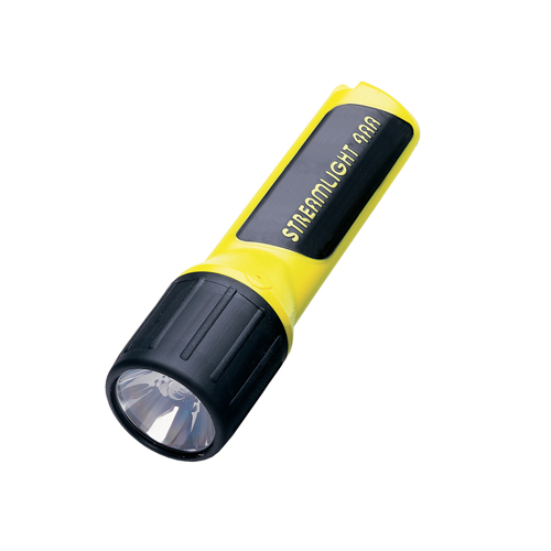 Streamlight Streamlight 4AA LED w/Alkaline Batteries, Box, Yellow 68251