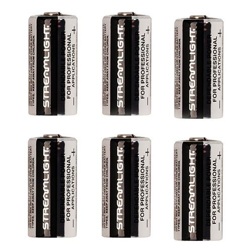 Streamlight Streamlight Lithium Batteries Per 6 85180