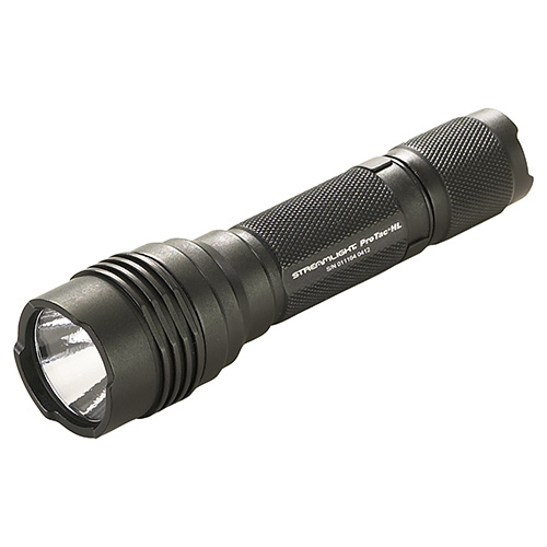 Streamlight Streamlight ProTac HL,White LED,2 Lithium Battery, Holster-Black 88040