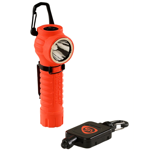 Streamlight PolyTac 90 LED w/Gear Keeper, Orange
