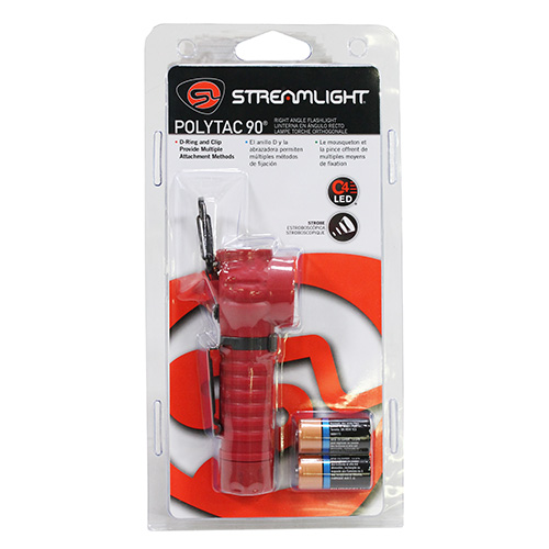 Streamlight Streamlight PolyTac Flashlight 90 LED, Orange 88834