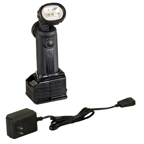 Streamlight Streamlight Knucklehead Light with Charger/Holder/120V AC Cord, Black 90602