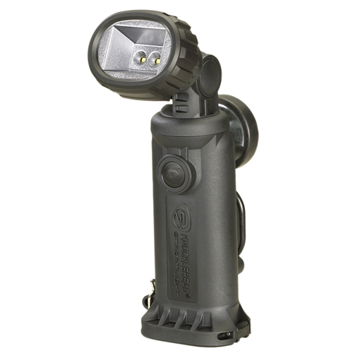 Streamlight Streamlight Knucklehead Light with Charger/Holder/120V AC Cord & DC Cord, Black 90607