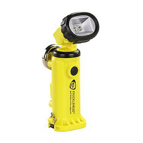 Streamlight Streamlight Knucklehead Light with Charger/Holder/120V AC Cord & DC Cord, Yellow 90627