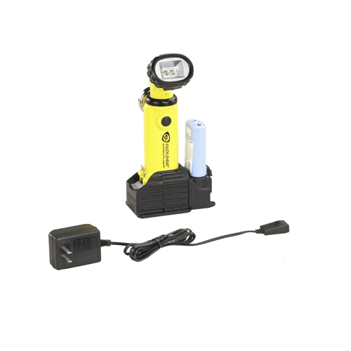 Streamlight Knucklehead Light w/120V AC Fast Charge, Yellow