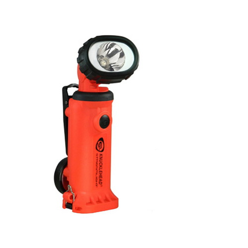 Streamlight Knucklehead Light w/Clip, 12V DC Fast Charge, Orange