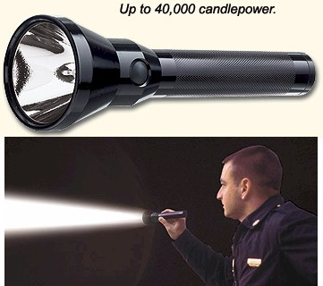 Streamlight Stinger HP Flashlight (with AC & DC Charger)