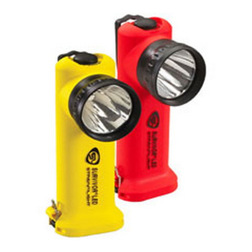 Streamlight Survivor LED Flashlight, (Orange, Battery Powered)