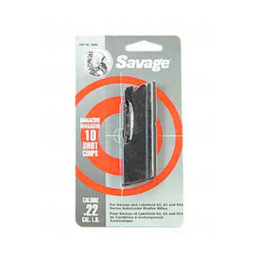 Savage Arms Savage Replacement Magazine 60 Series 10 Shot, 22 LR,  Blued