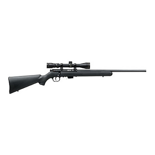 Savage Arms Rifle Savage Arms 93R17 Series FXP with 3-9x40 Scope, 17 HMR, 21