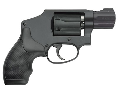 Smith & Wesson M351 Airlite Centennial 22 Mag C, Blued 7 Round