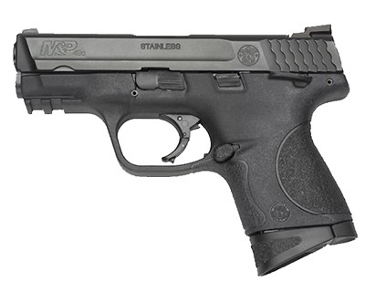 Smith & Wesson Pistol Smith & Wesson M&P40 Compact 40 S&W Ambidextrous Manual Safety 10 Round 106303