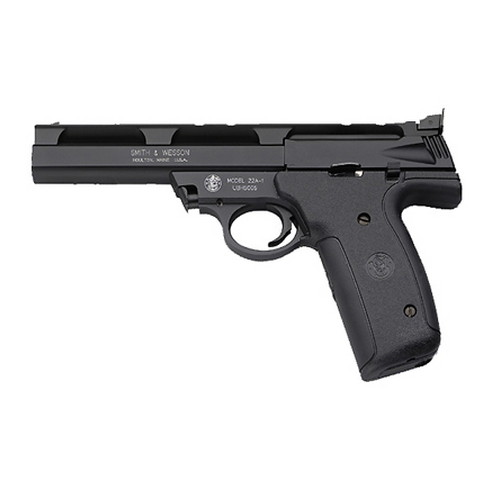 "Smith & Wesson M22A 22 Long Rifle 5.5"" Barrel 10 Round Plastic/Blued Semi Automatic Pistol 107410"