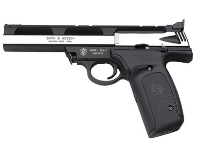 Smith & Wesson Pistol Smith & Wesson M22A 22 Long Rifle 5.5