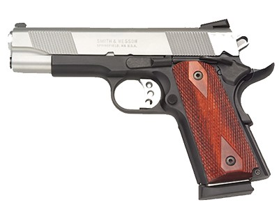 Smith & Wesson Pistol Smith & Wesson SW1911 45 ACP Compact ES, 4.5