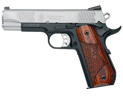 Smith & Wesson Pistol Smith & Wesson SW1911 45 ACP SC, 4.25