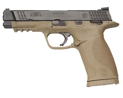 Smith & Wesson Pistol Smith & Wesson M&P45 45 ACP No Mag Safety, Flat Dark Earth 10 Round 109156