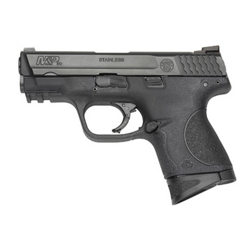 Smith & Wesson Pistol Smith & Wesson M&P9 9mm Luger Compact, Mag Safety Massachusetts Approved, 10 Round 109254