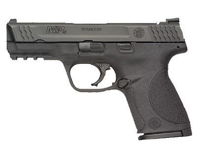 Smith & Wesson Pistol Smith & Wesson M&P45 45 ACP Compact, Black 8 Round 109308