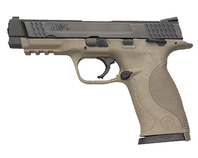 Smith & Wesson Pistol Smith & Wesson M&P45 45 ACP Ambidextrous Manual Safety, Night Sights, Flat Dark Earth 10 Round 109556