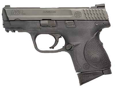 Smith & Wesson Pistol Smith & Wesson M&P40 Compact, 40 S&W Crimson Trace Grips 10 Round 120075