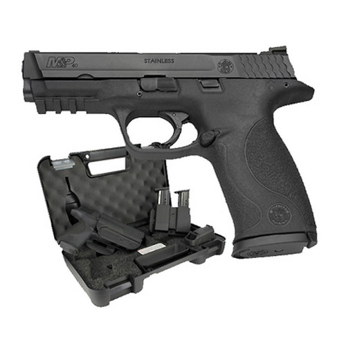 Smith & Wesson Pistol Smith & Wesson M&P40 40 S&W Carry & Range Kit Massachusetts Approved, 15 Round 139350