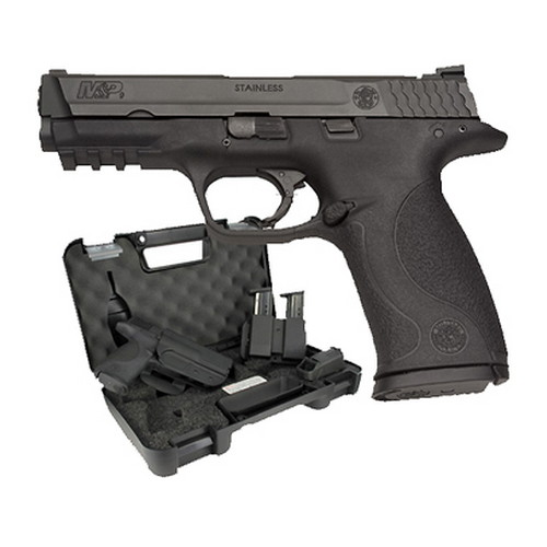 Smith & Wesson Smith & Wesson M&P9 9mm Luger Carry & Range Kit 10 Round Capacity Massachusetts Approved Pistol 139351