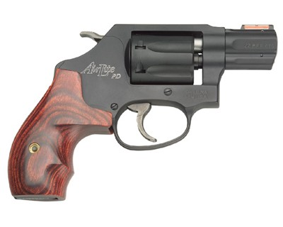 Smith & Wesson Revolver Smith & Wesson M351 Airlite Centennial 22 Mag PD, Blued 7 Round 160228