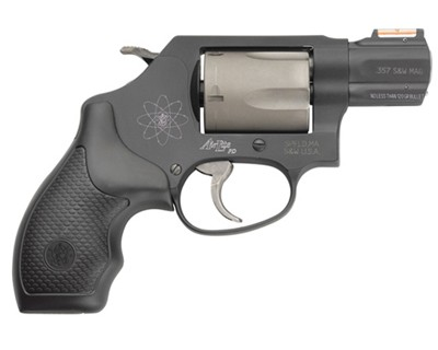 Smith & Wesson Revolver Smith & Wesson M360PD Airlite SC Chiefs Special 357 Mag 7 Round 163064