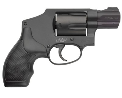 Smith & Wesson Revolver Smith & Wesson M&P340 Centinniel 357 Mag Blued Night Sights 5 Round 163072