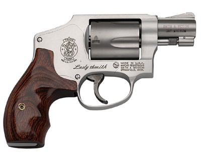 Smith & Wesson Revolver Smith & Wesson M642 Lady Smith 38 Special Stainless Steel, 5 Round 163808