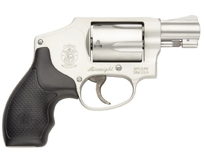 Smith & Wesson Revolver Smith & Wesson M642 Centennial Airweight, 38 Special Stainless Steel 5 Round 163810