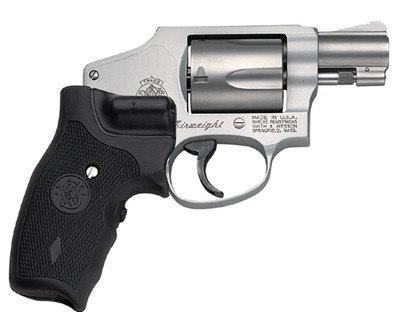 Smith & Wesson Revolver Smith & Wesson M642 Centennial Airweight, 38 Special with Crimson Trace Grip 5 Round 163811