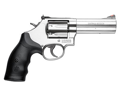 Smith & Wesson Revolver Smith & Wesson M686+ DistCmbtMag 357 Magnum 4