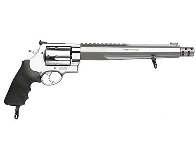 Smith & Wesson Revolver Smith & Wesson M460XVR 460 S&W Magnum Rubber/Stainless Steel, 5 Round 170262