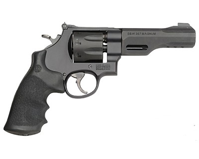 Smith & Wesson M327 357 Magnum TRR8 Rail Black/Grey 8 Round