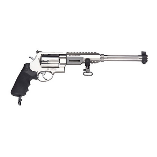 Smith & Wesson Revolver Smith & Wesson M460XVR 460 S&W Magnum Hogue, Stainless Steel, 5 Round 170280
