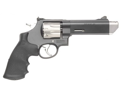 Smith & Wesson Revolver Smith & Wesson M627 V-COMP 357 Mag Rubber/2-Tone 8 Round 170296