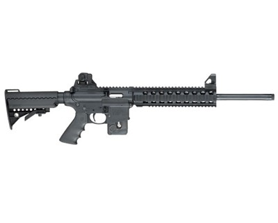 Smith & Wesson Rifle Smith & Wesson M&P15-22 22 Long Rifle Adjustable Stock Quad Rail 10 Round 170335