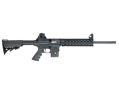 Smith & Wesson Rifle Smith & Wesson M&P15-22 22 Long Rifle Fixed Stock Quad Rail 10 Round 170337