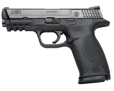 Smith & Wesson Pistol Smith & Wesson M&P9 9mm Luger Pro, Night Sights 4.5 lb Trigger 17 Round 178035