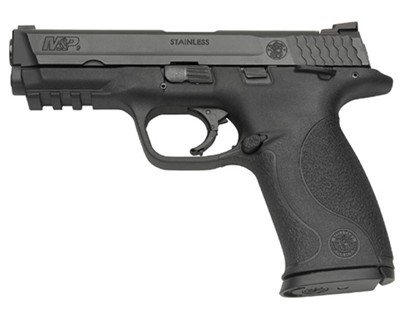 Smith & Wesson Pistol Smith & Wesson M&P9 9mm Luger Ambidextrous Manual Safety 17 Round 206301